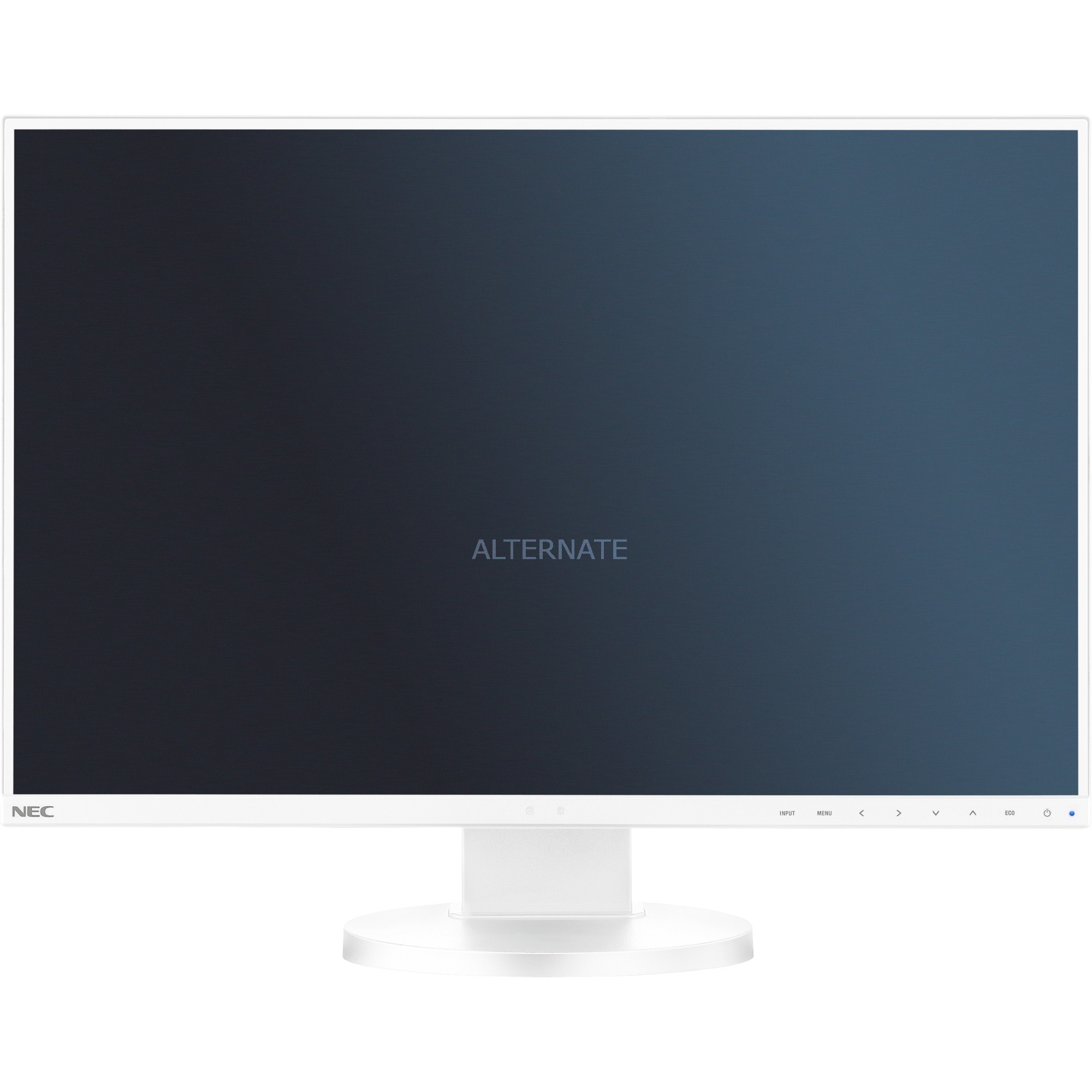 "MultiSync E245WMi LED display 61 cm (24"") WUXGA Plana Blanco, Monitor LED"