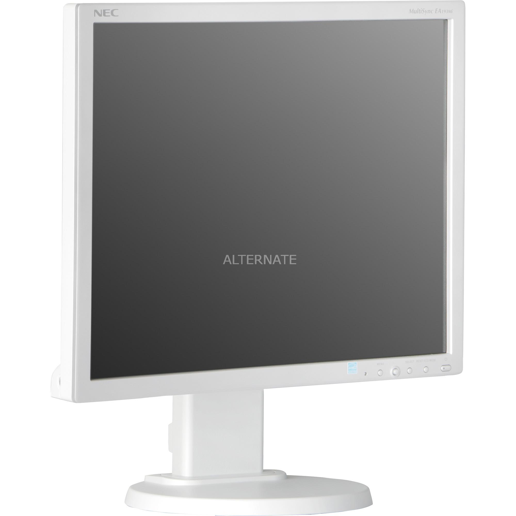 MultiSync EA193Mi, Monitor LED