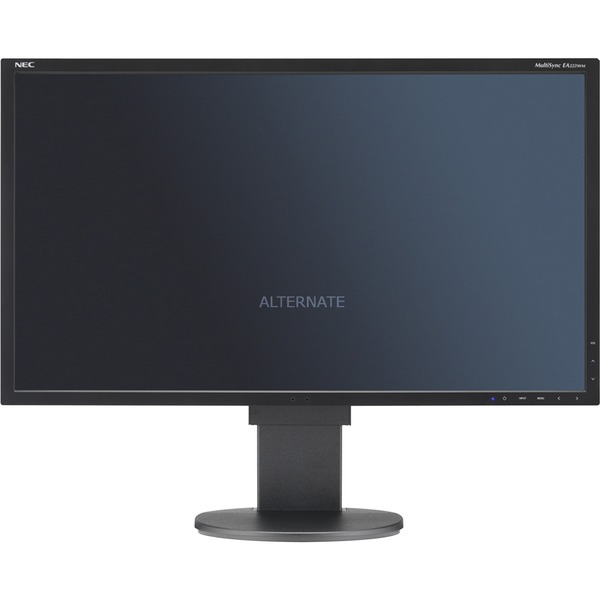 "MultiSync EA223WM LED display 55,9 cm (22"") Plana Negro, Monitor LED"