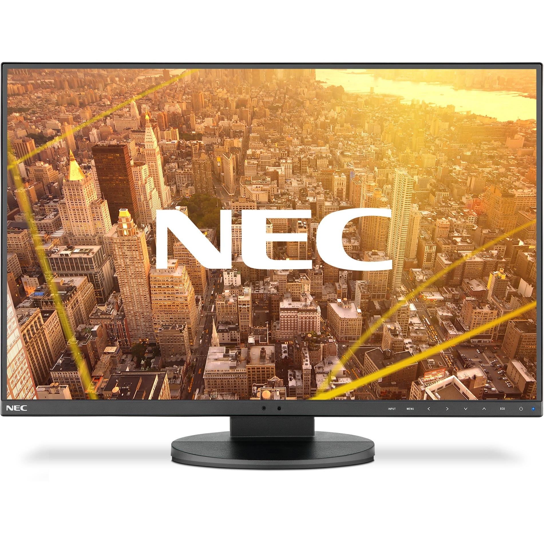 "MultiSync EA241WU pantalla para PC 61 cm (24"") 1920 x 1200 Pixeles WUXGA LCD Plana Negro, Monitor LED"