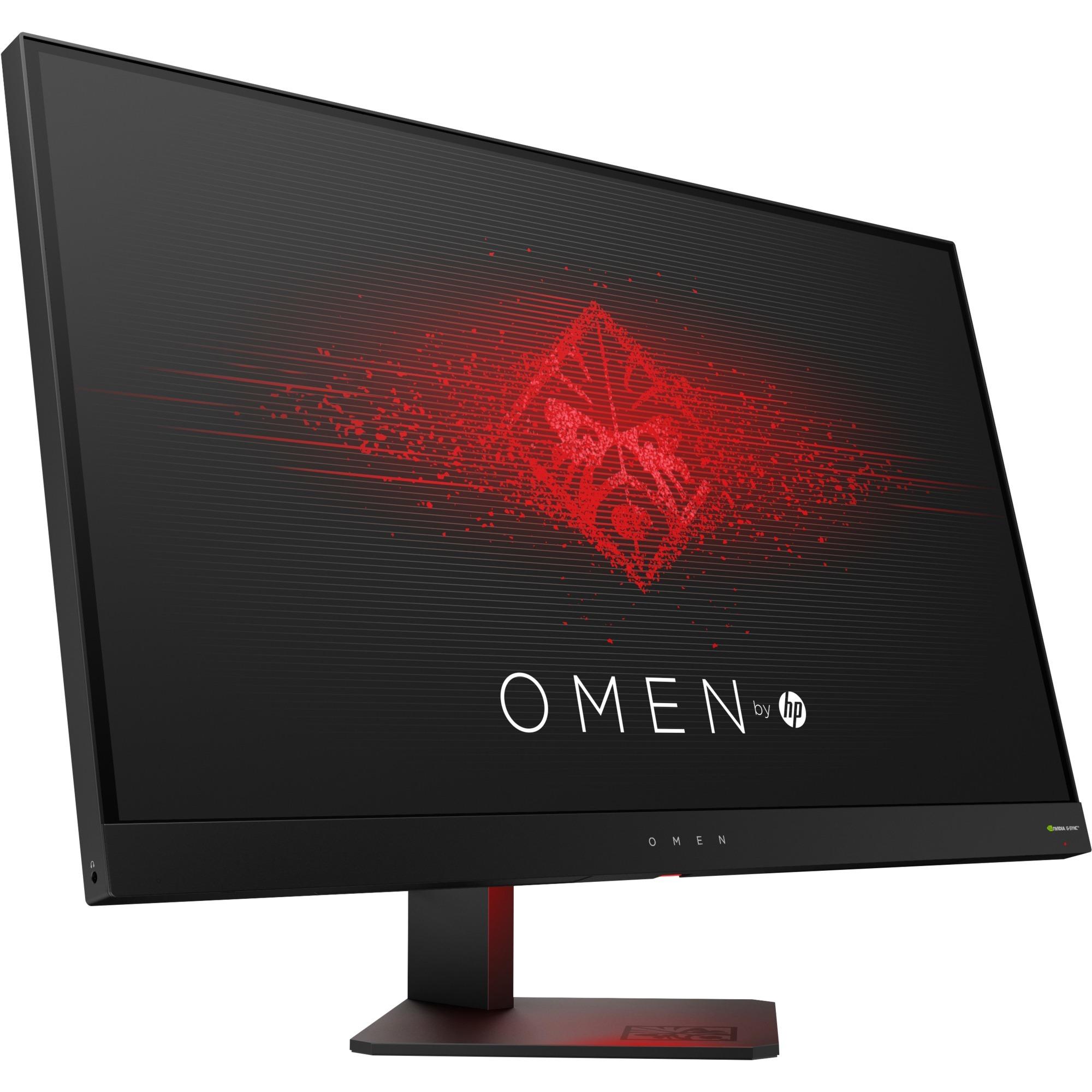 "OMEN 27 LED display 68,6 cm (27"") Wide Quad HD Plana Mate Black, Monitor LED"