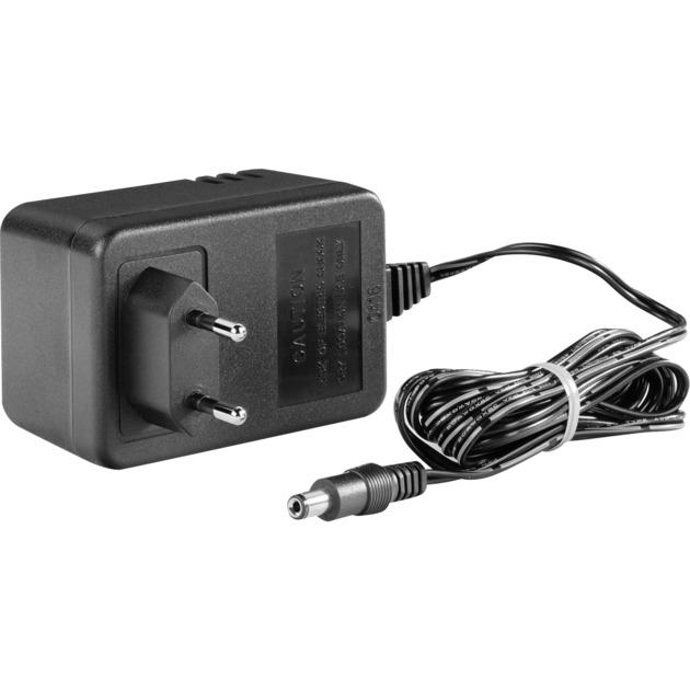 AD-24ES Auto Negro adaptador e inversor de corriente, Fuente de alimentación