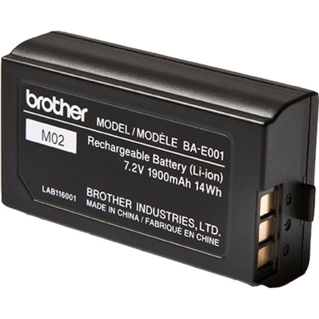 BAE001 iones de litio 1900mAh 7.2V batería recargable