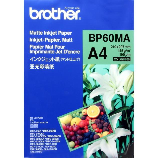 BP60MA Inkjet Paper papel para impresora de inyección de tinta A4 (210x297 mm) Mate Blanco