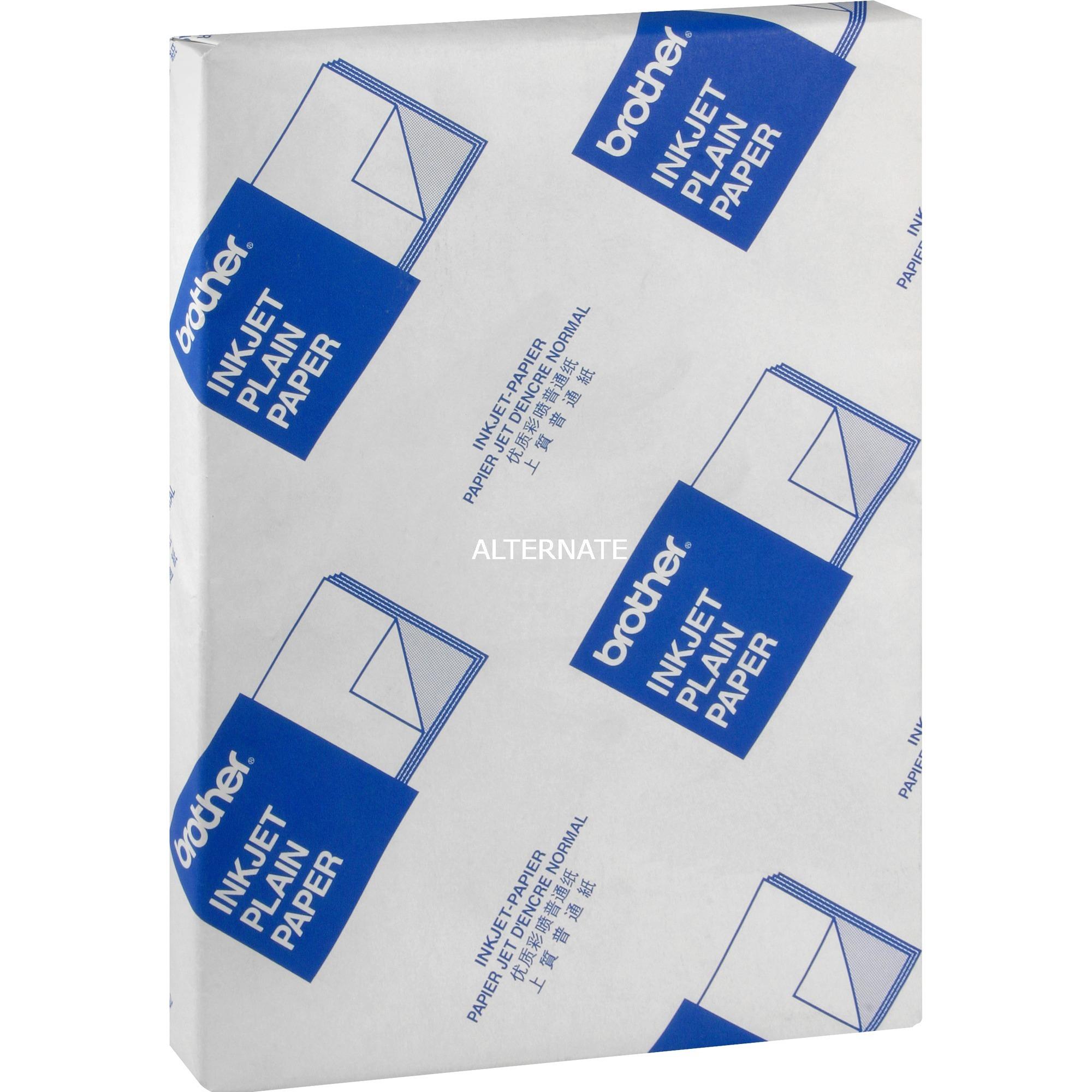 BP60PA Inkjet Paper papel para impresora de inyección de tinta A4 (210x297 mm) Satinado mate Blanco