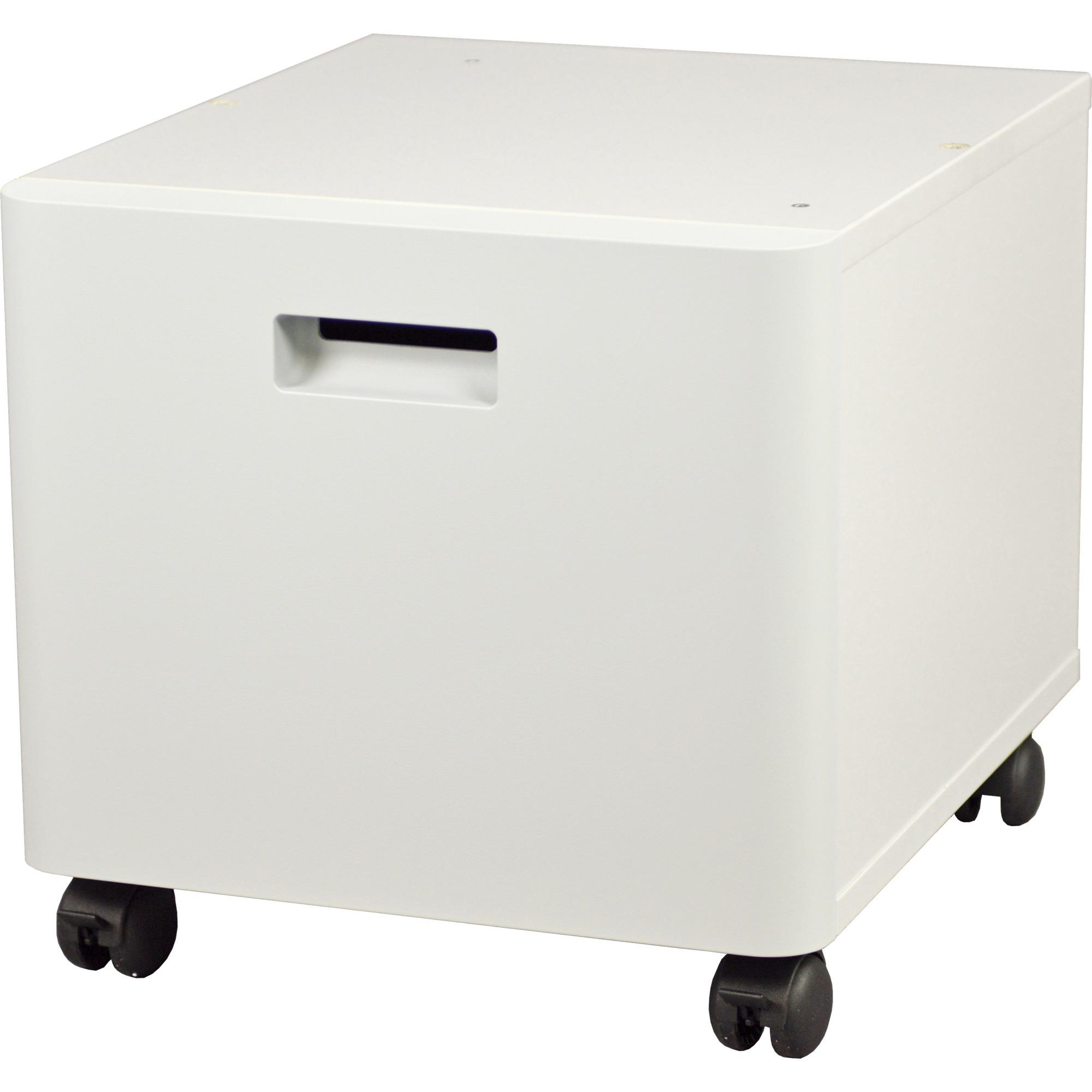 ZUNTBC4FARBLASER mueble y soporte para impresoras Blanco, Compartimento de abajo