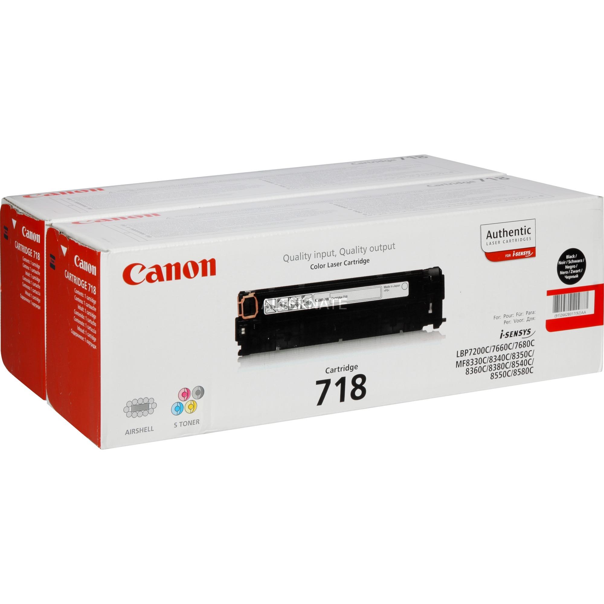 2662B017 cartucho de tóner Negro