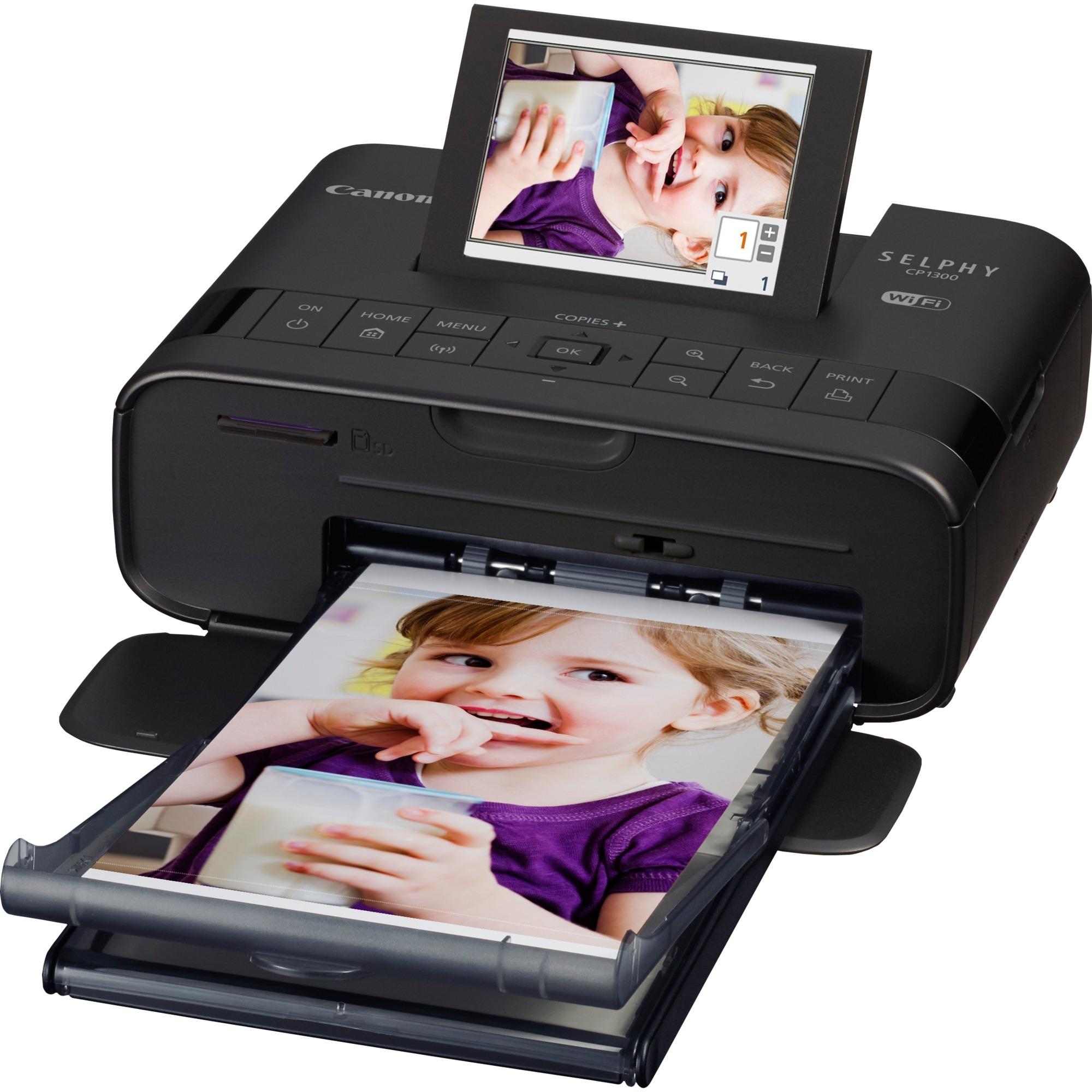 "SELPHY CP1300 impresora de foto Pintar por sublimación 300 x 300 DPI 4"" x 6"" (10x15 cm) Wifi, Impresora de fotos"