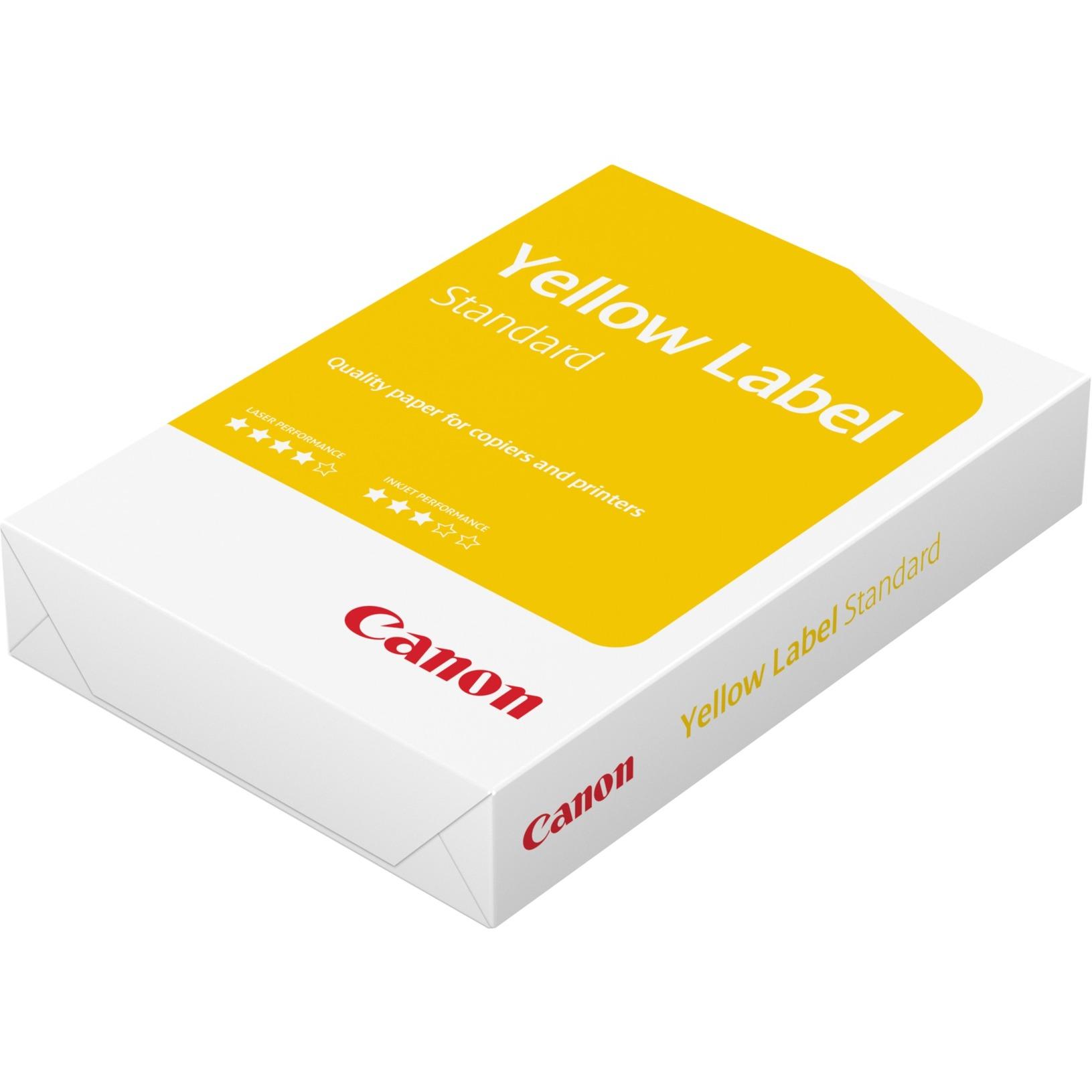Canon Yellow Label Print Papel Para Impresora De Inyeccin Tinta G Series A4 210x297 Mm Blanco Impresin Lser