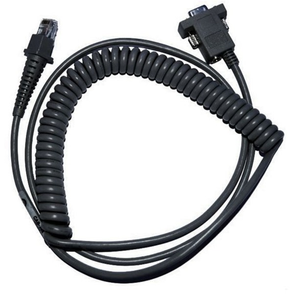 CAB-362 RS-232 Coiled 9-Pin Fem., Cable
