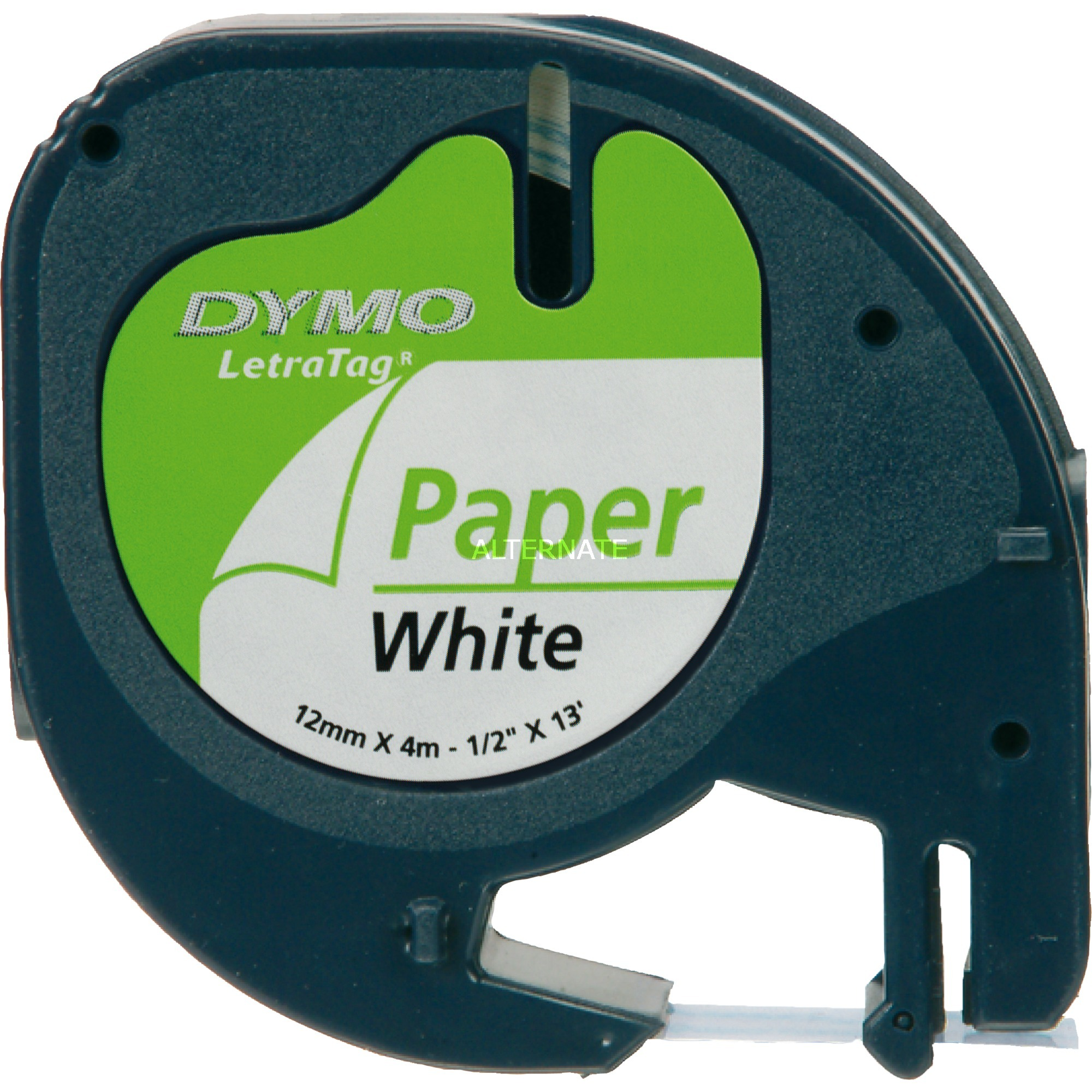12mm LetraTAG Paper tape cinta para impresora de etiquetas, Cinta de escritura