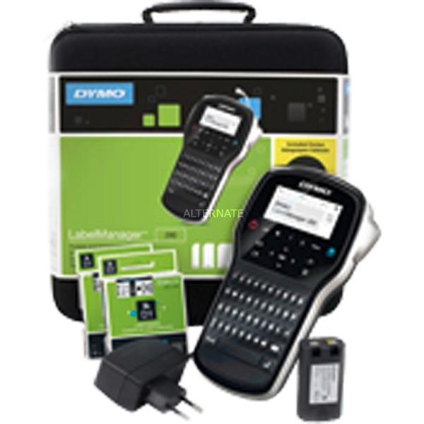 LabelManager 280 + Case impresora de etiquetas Transferencia térmica, Rotulador