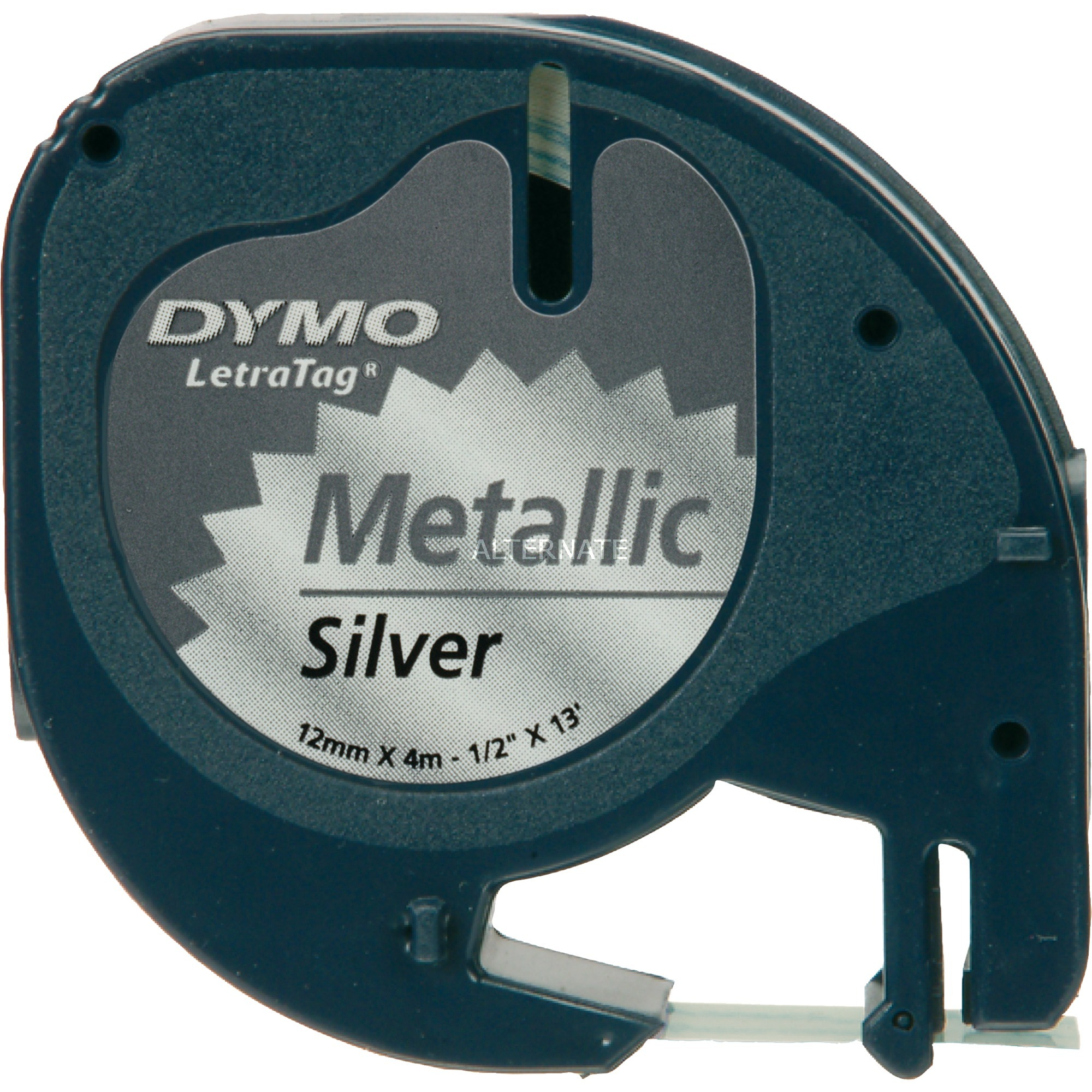 LetraTAG Metallic tape cinta para impresora de etiquetas, Cinta de escritura