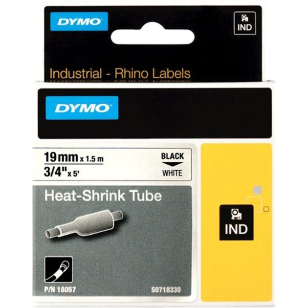 RhinoPRO Heat shrink tubes cinta para impresora de etiquetas D1, Tubo termoretráctil para etiquetas