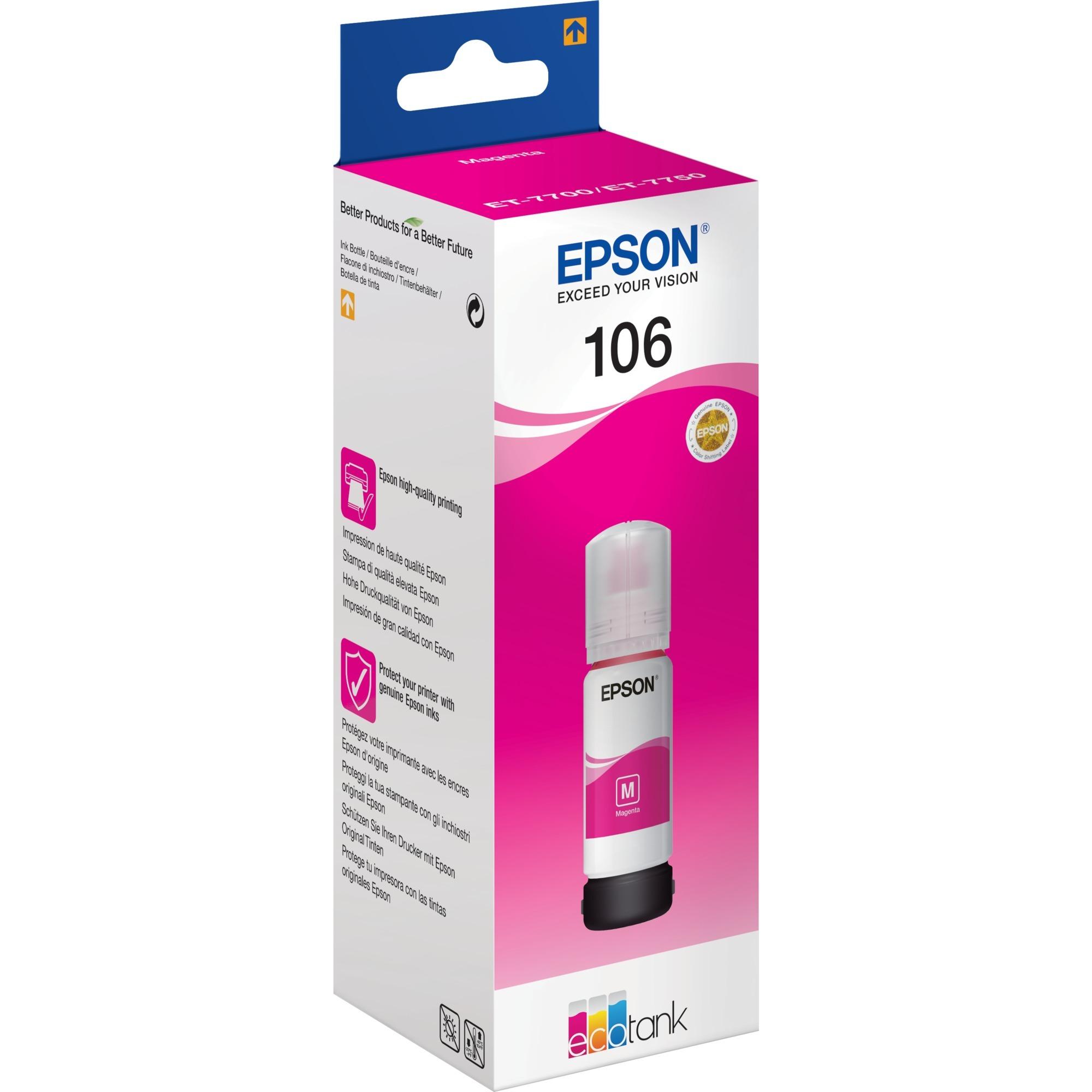 106 EcoTank Magenta ink bottle cartucho de tinta
