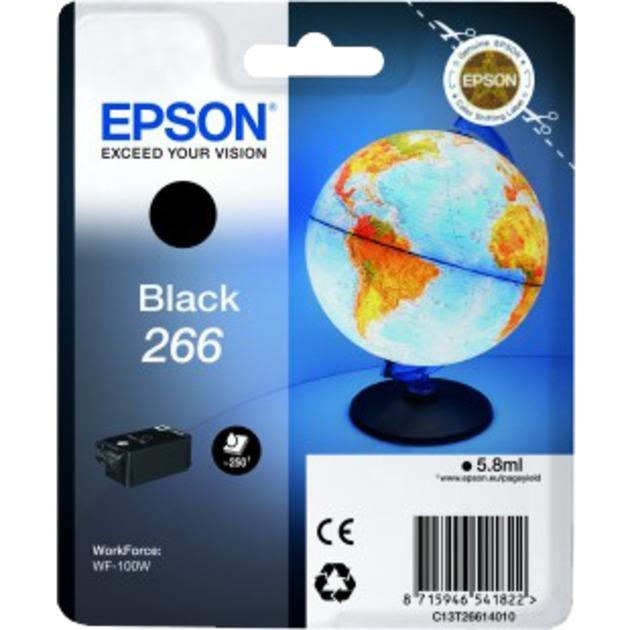 266 5.8ml 250páginas Negro cartucho de tinta