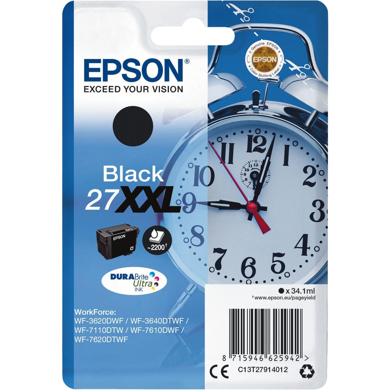 Alarm clock Singlepack Black 27XXL DURABrite Ultra Ink, Tinta
