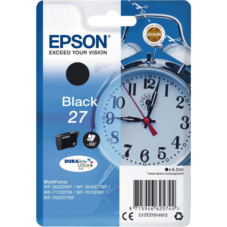 Alarm clock Singlepack Black 27 DURABrite Ultra Ink, Tinta