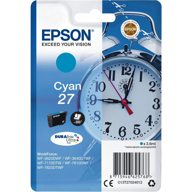 Alarm clock Singlepack Cyan 27 DURABrite Ultra Ink, Tinta