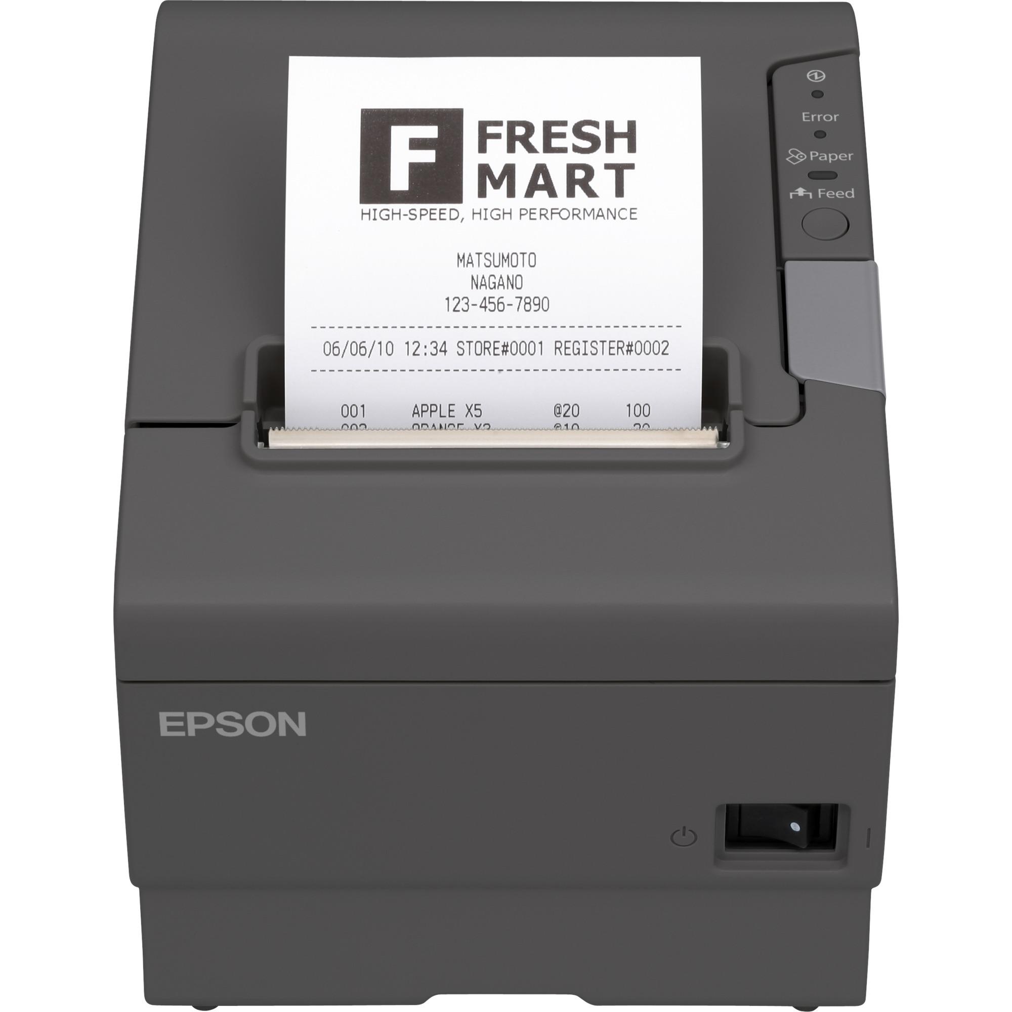 TM-T88V (041): Serial, w/o PS, EDG, Impresora de tickets