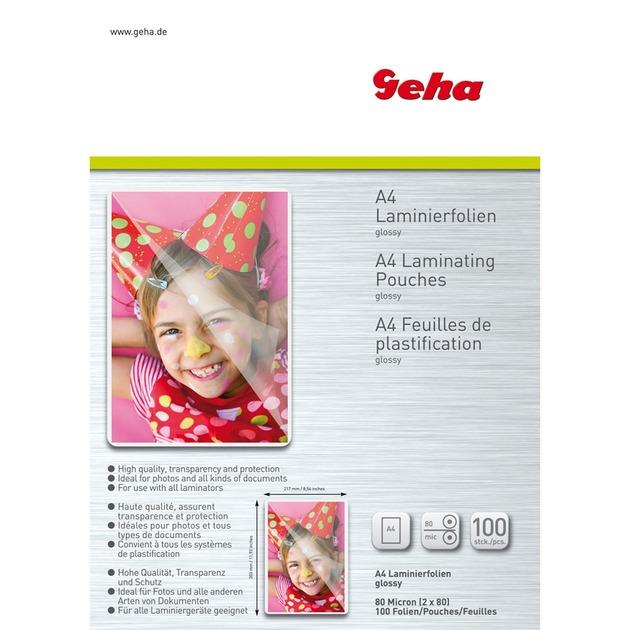 00093502 plastificador 100 pieza(s), Películas