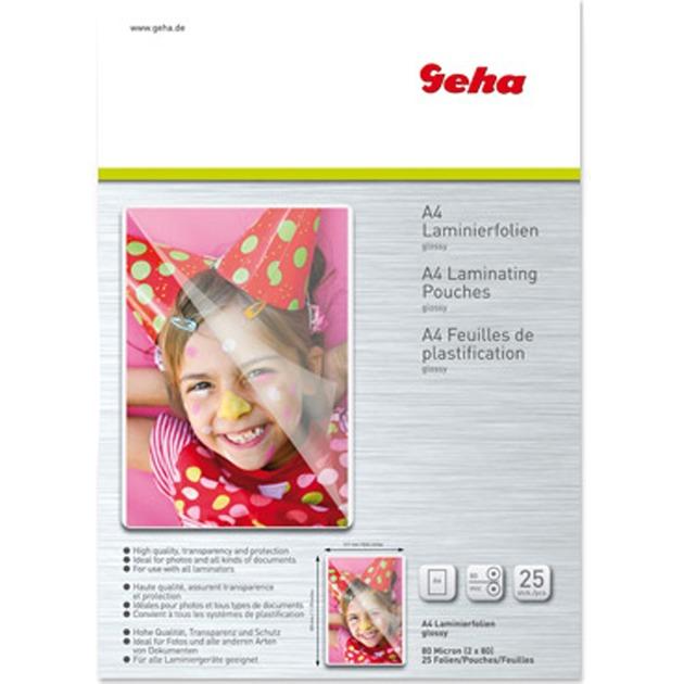 86093403 plastificador 25 pieza(s), Películas