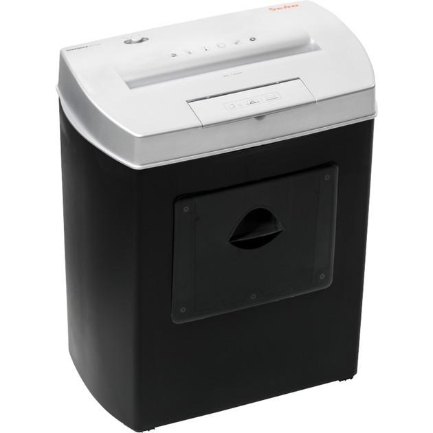 Home & Office X7 CD Cross shredding 72dB Negro, Gris triturador de papel, Destructora de documentos