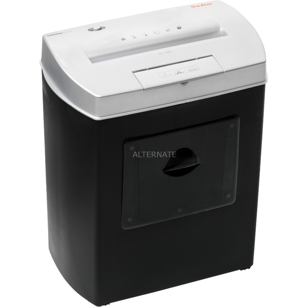 Home & Office X7 CD triturador de papel Cross shredding 22 cm 72 dB Negro, Gris, Destructora de documentos