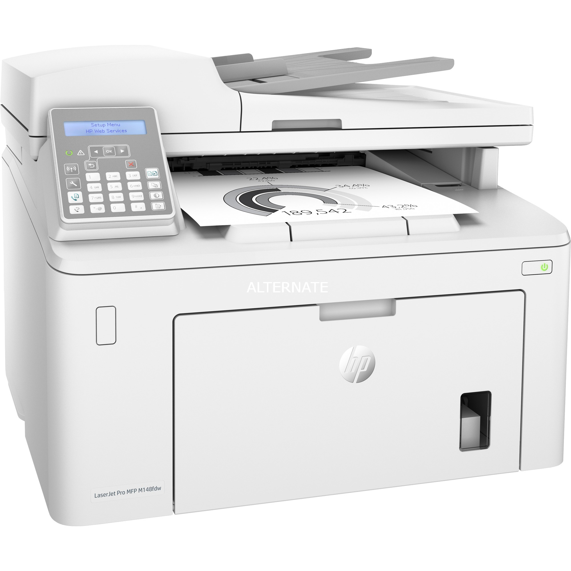 4PA42A#B19, Impresora multifuncional