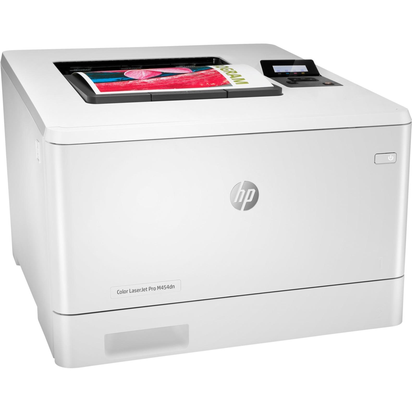Color LaserJet Pro M454dn 600 x 600 DPI A4, Impresora láser a color