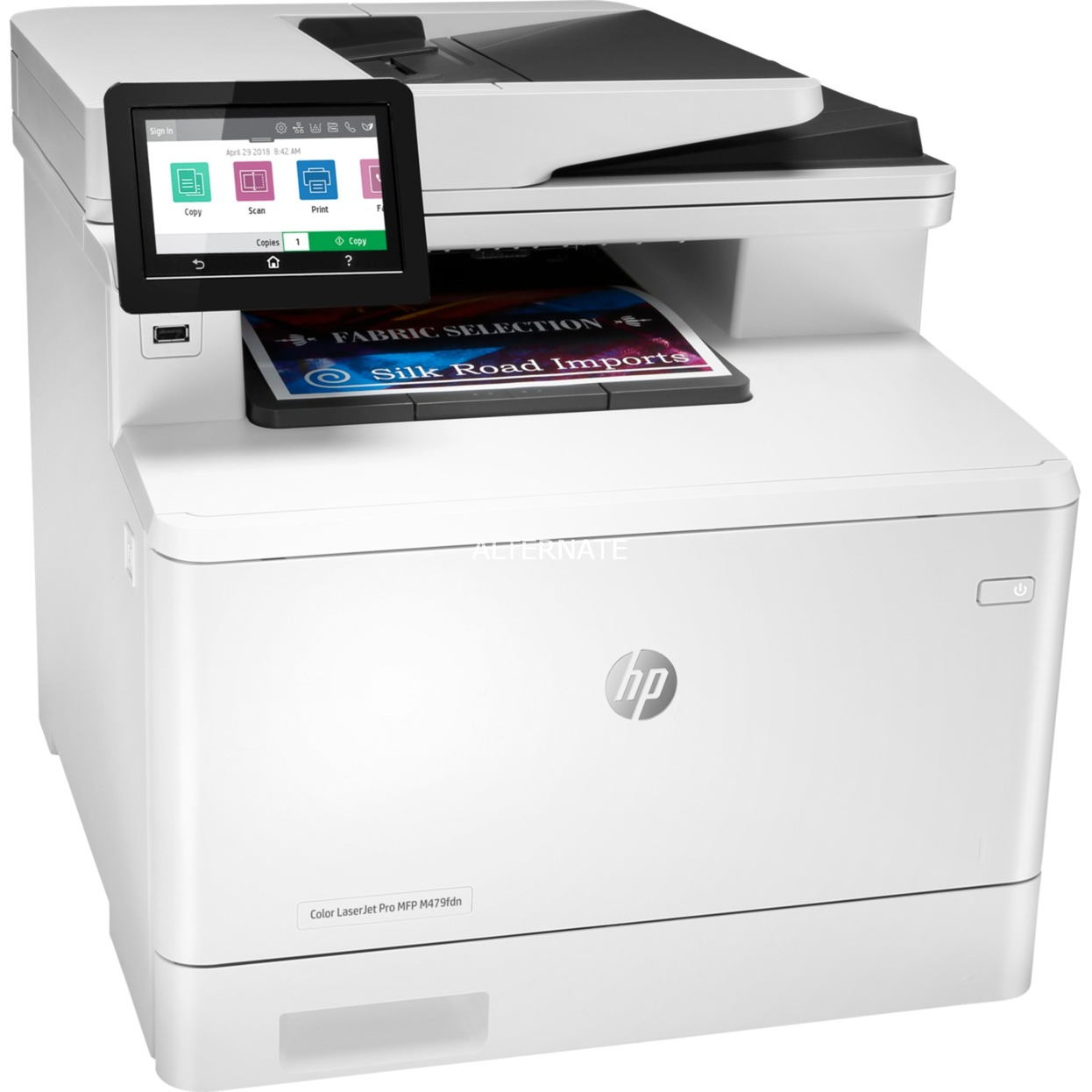 Color LaserJet Pro M479fdn Laser 28 ppm 600 x 600 DPI A4, Impresora multifuncional