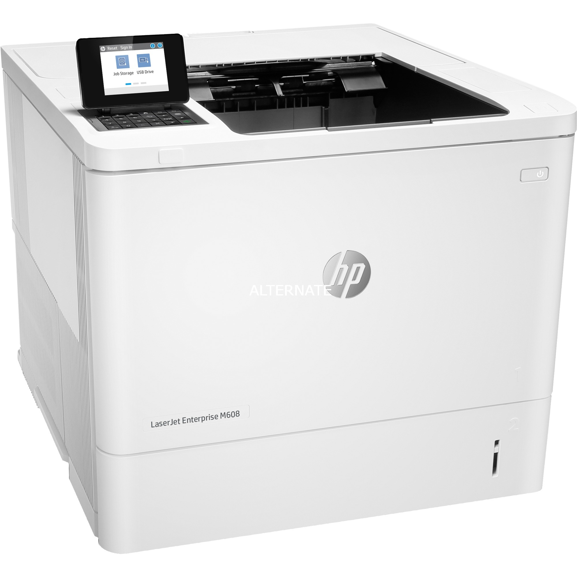 LaserJet Enterprise M608n 1200 x 1200 DPI A4, Impresora láser