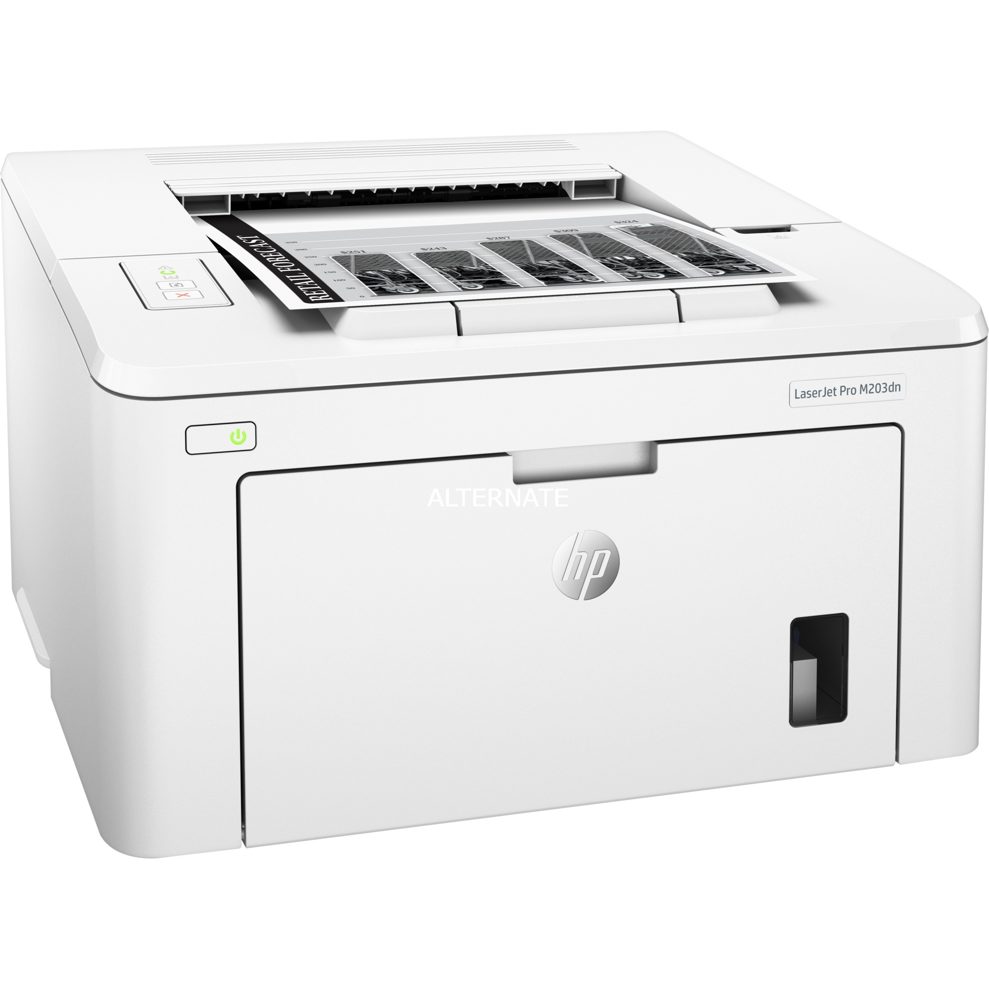 LaserJet M203dn 1200 x 1200 DPI A4, Impresora láser