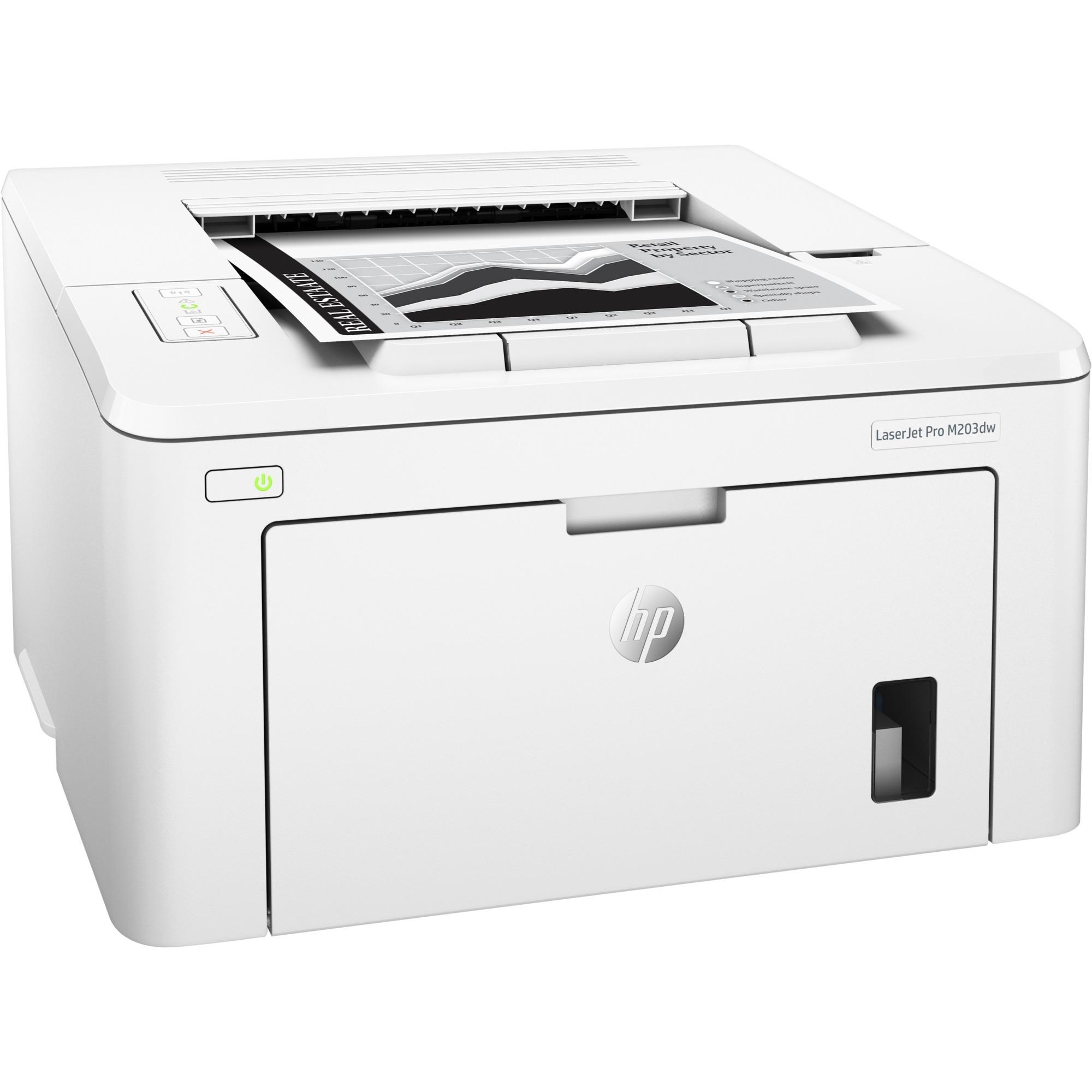 LaserJet M203dw 1200 x 1200 DPI A4 Wifi, Impresora láser