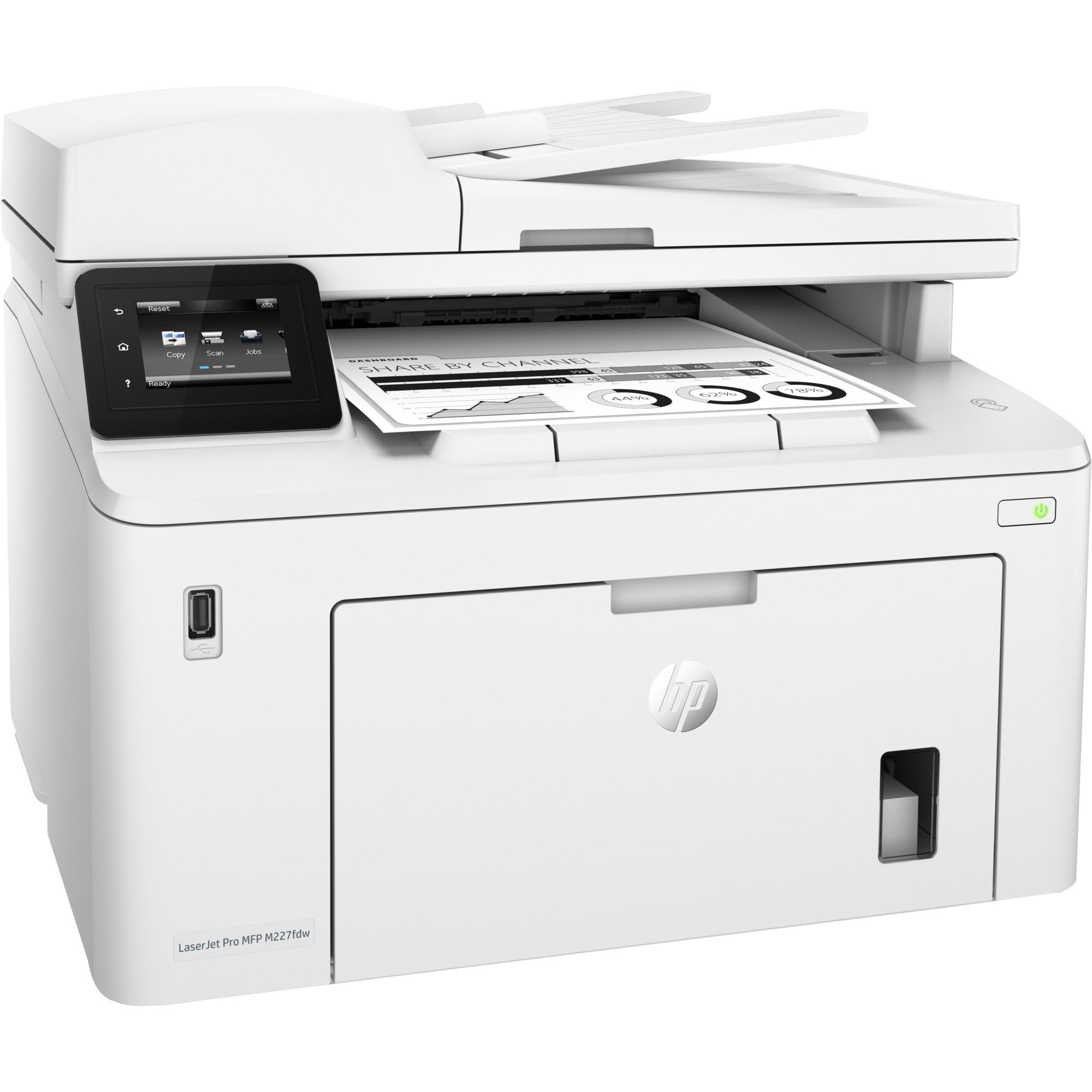 LaserJet Pro M227fdw Laser 28 ppm 1200 x 1200 DPI A4 Wifi, Impresora multifuncional
