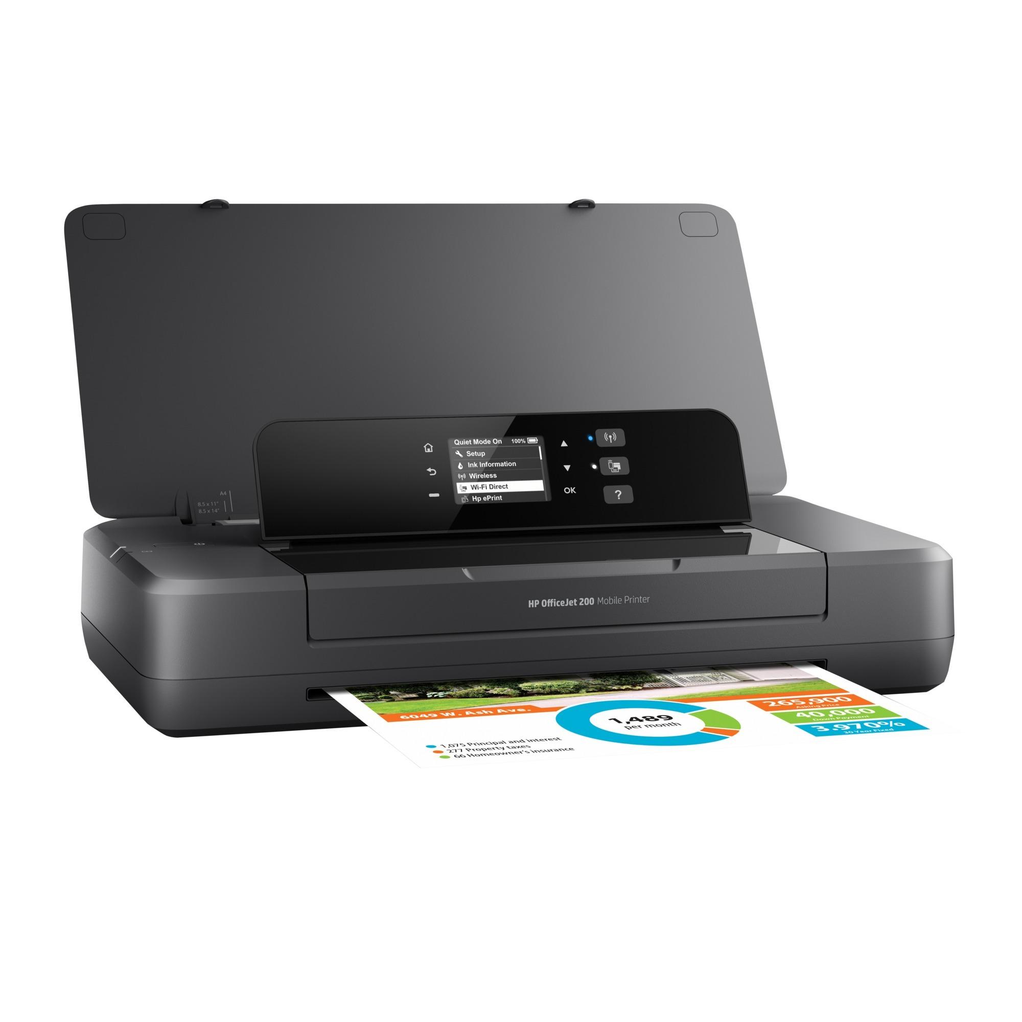 OfficeJet 200 Mobile, Impresora de chorro de tinta
