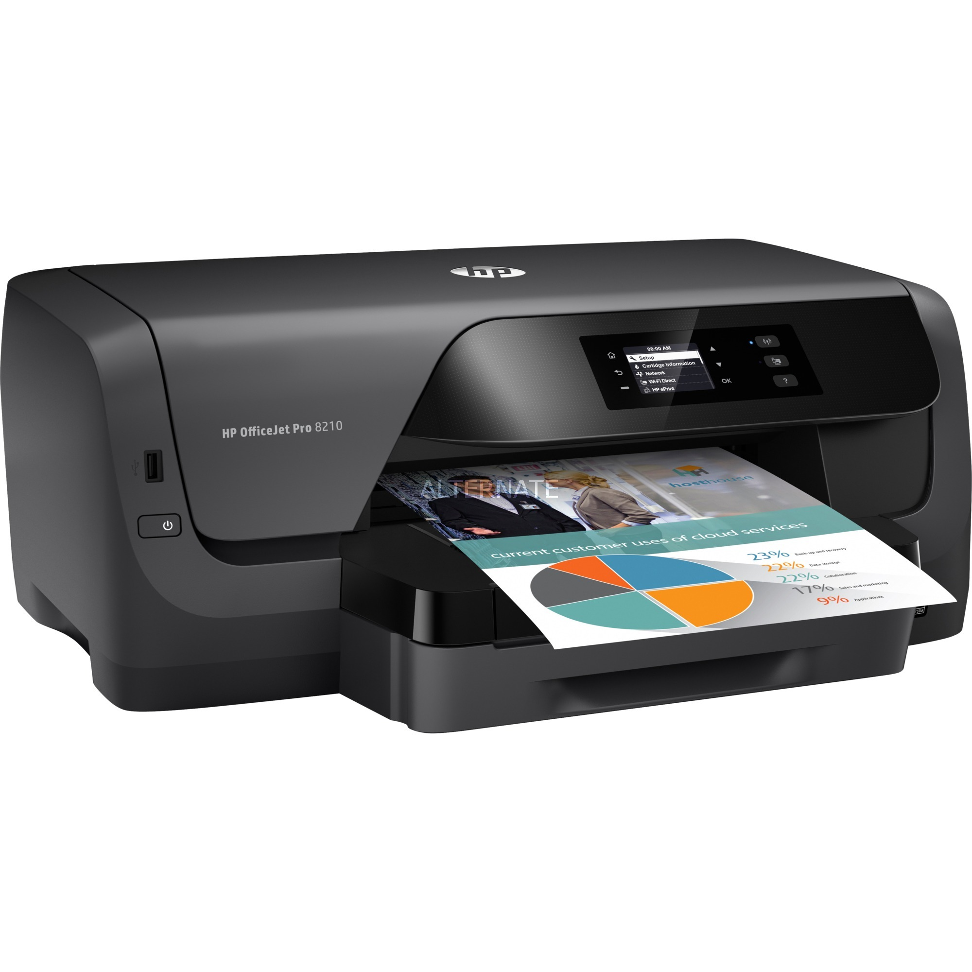 OfficeJet 8210 color, Impresora de chorro de tinta