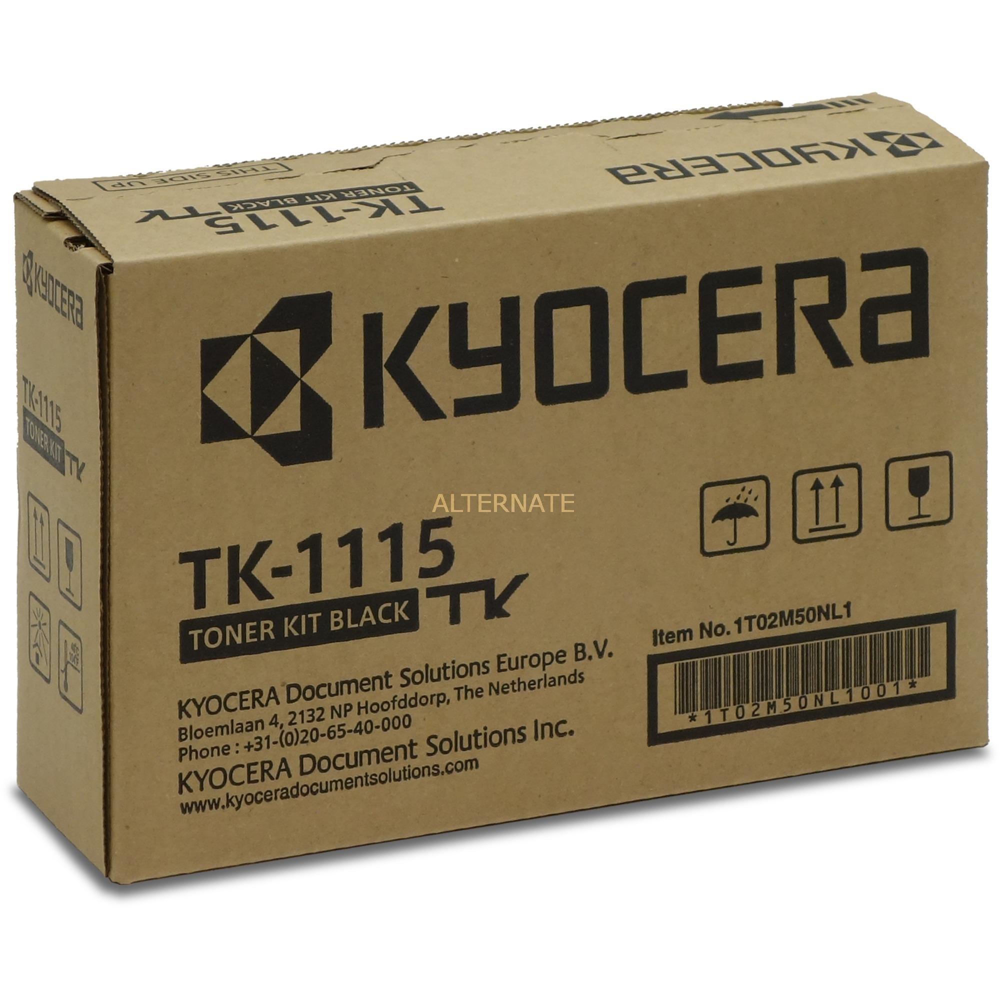 TK-1115 1600páginas Negro, Tóner