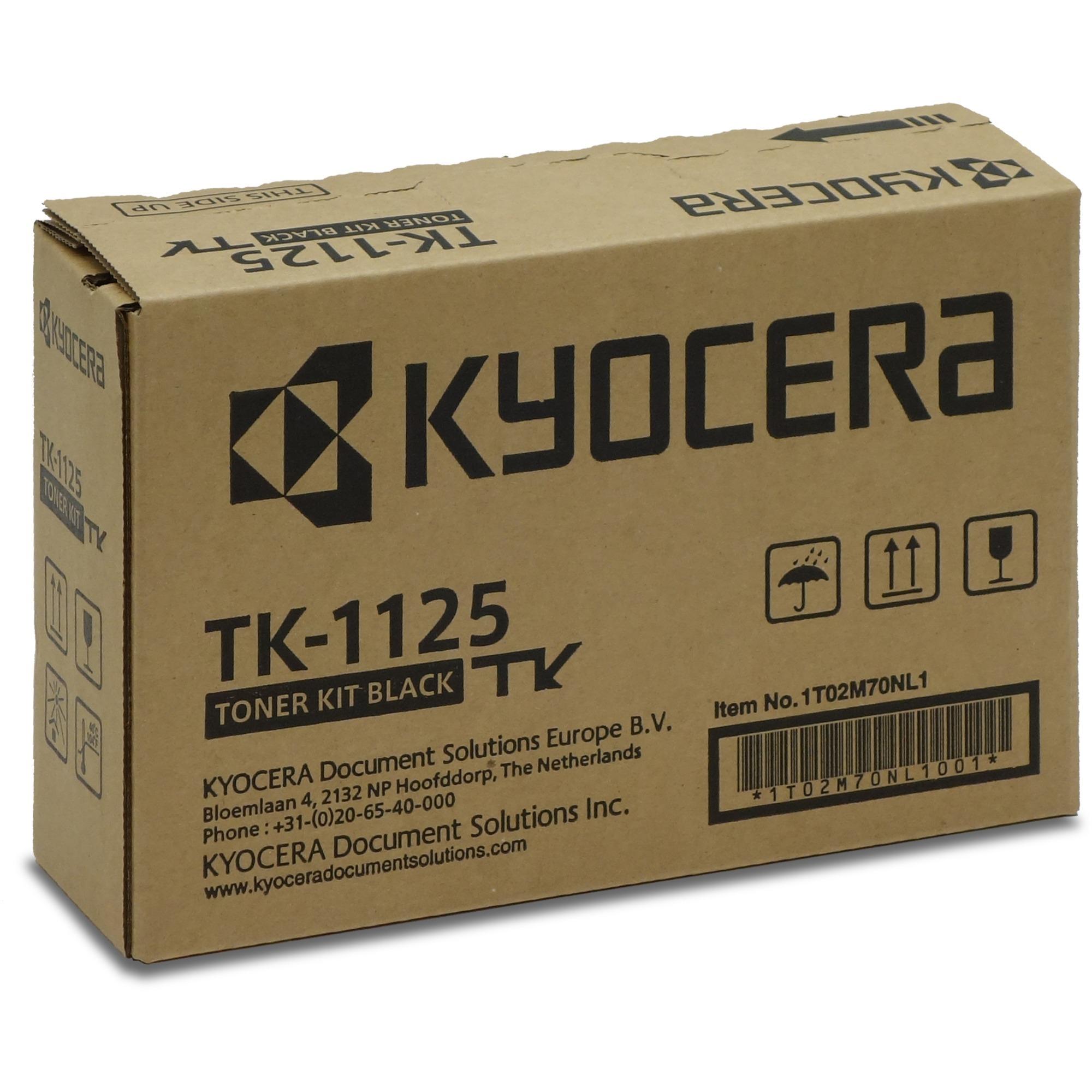 TK-1125 Cartucho de tóner 2100 páginas Negro