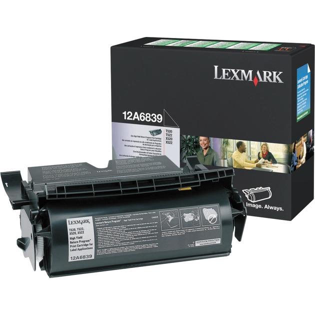 12A6839 Laser cartridge 20000páginas Negro tóner y cartucho láser