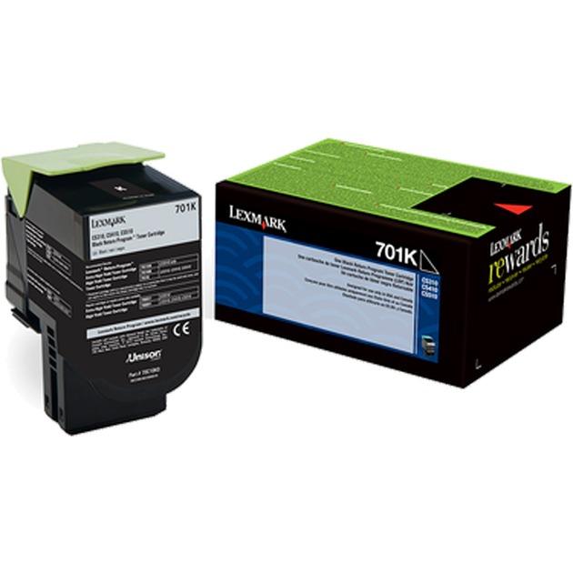 702K R Laser cartridge 1000páginas Negro, Tóner