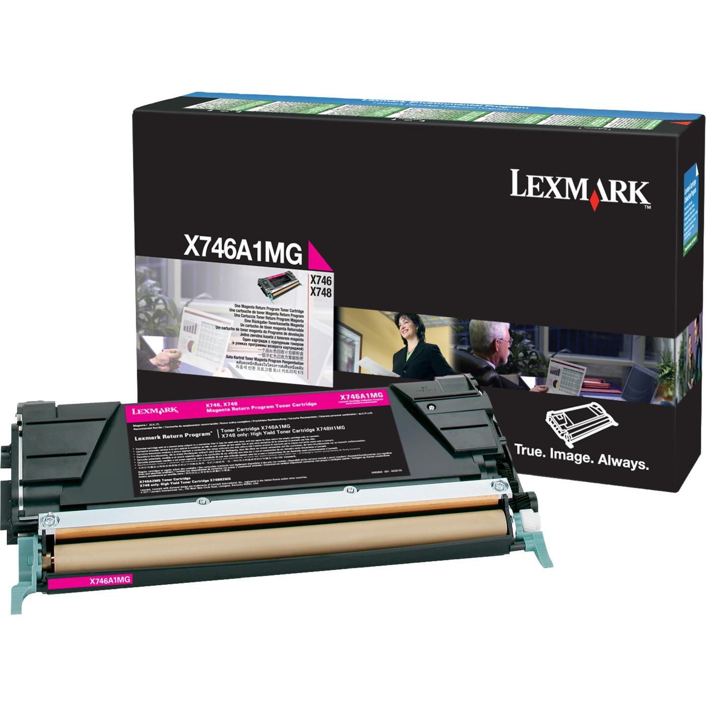X746A1MG cartucho de tóner Tóner de láser 7000 páginas Magenta