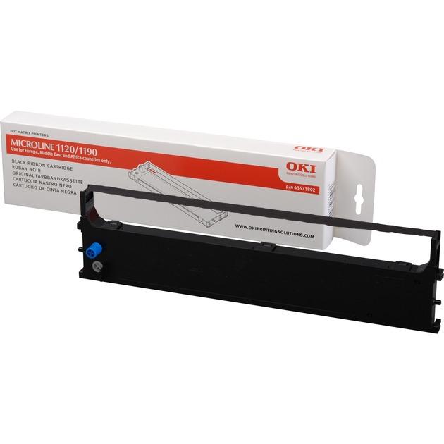 43571802 Negro cinta para impresora, Cinta de colores
