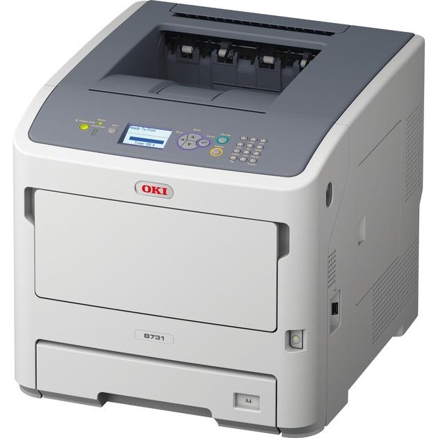 B731dnw, Impresora LED