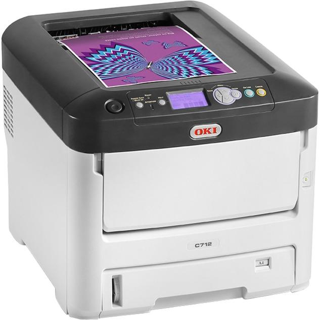 C712dn Color 1200 x 600 DPI A4, Impresora LED