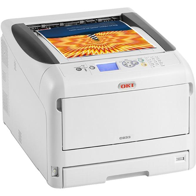 C833dn Color 600 x 1200 DPI A3, Impresora LED