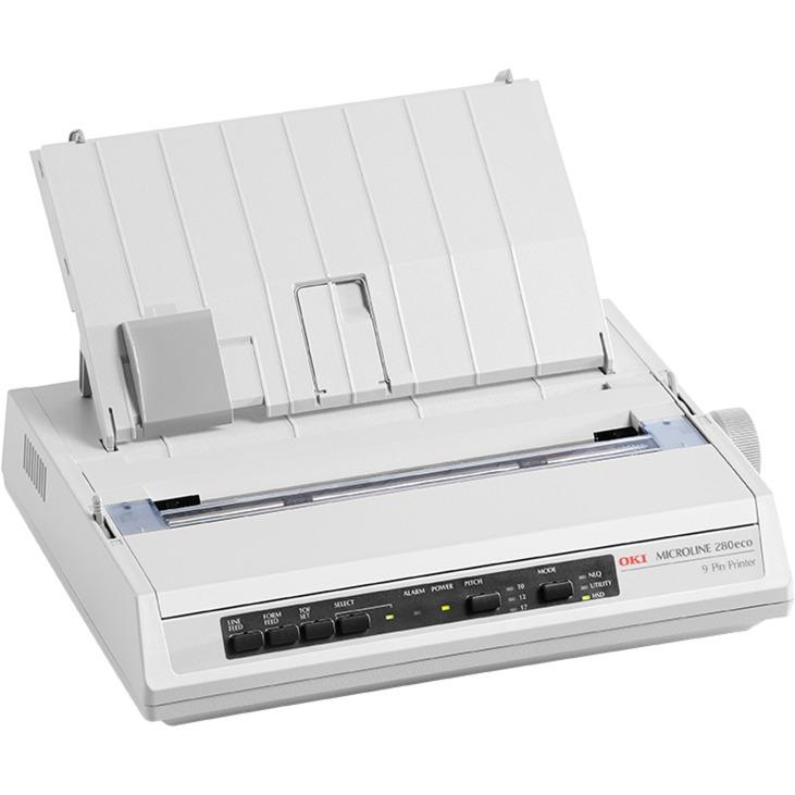ML280 ECO (PAR) 375carácteres por segundo 240 x 216DPI impresora de matriz de punto, Impresora de agujas