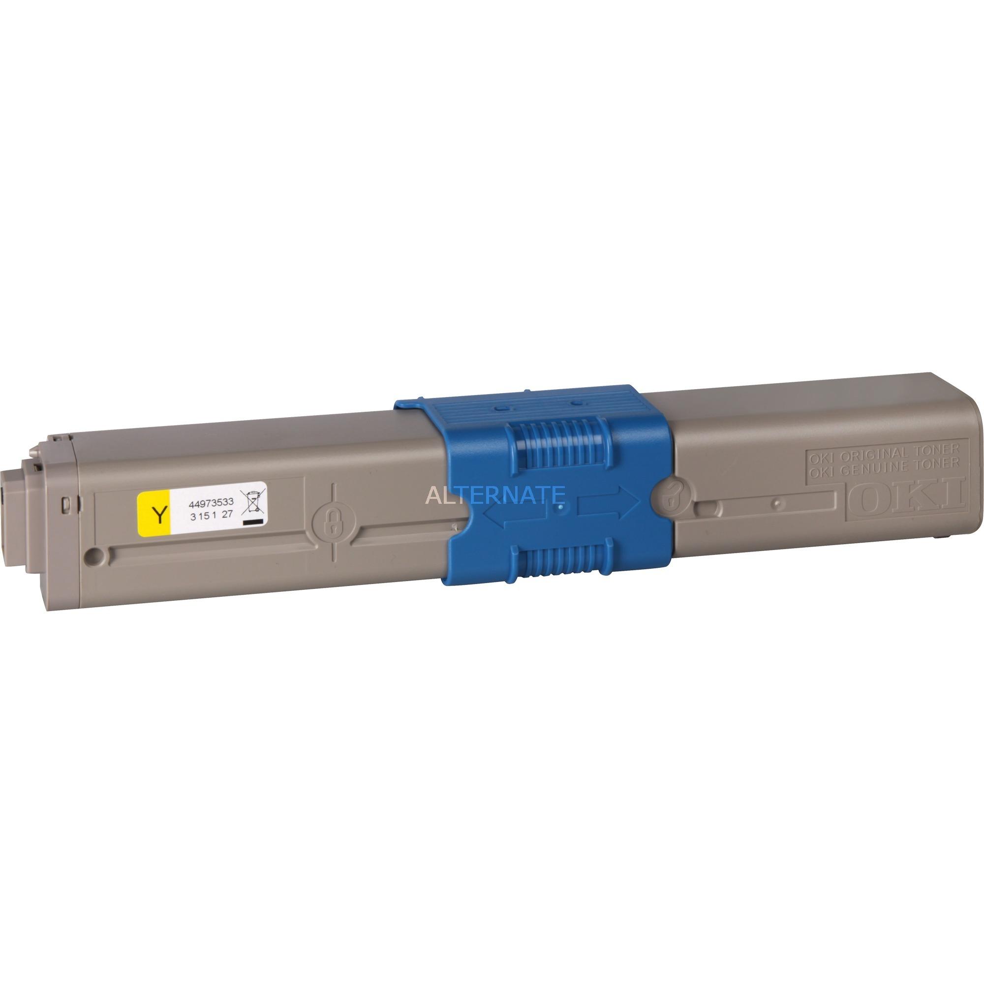 44973533 Laser cartridge 1500páginas Amarillo tóner y cartucho láser