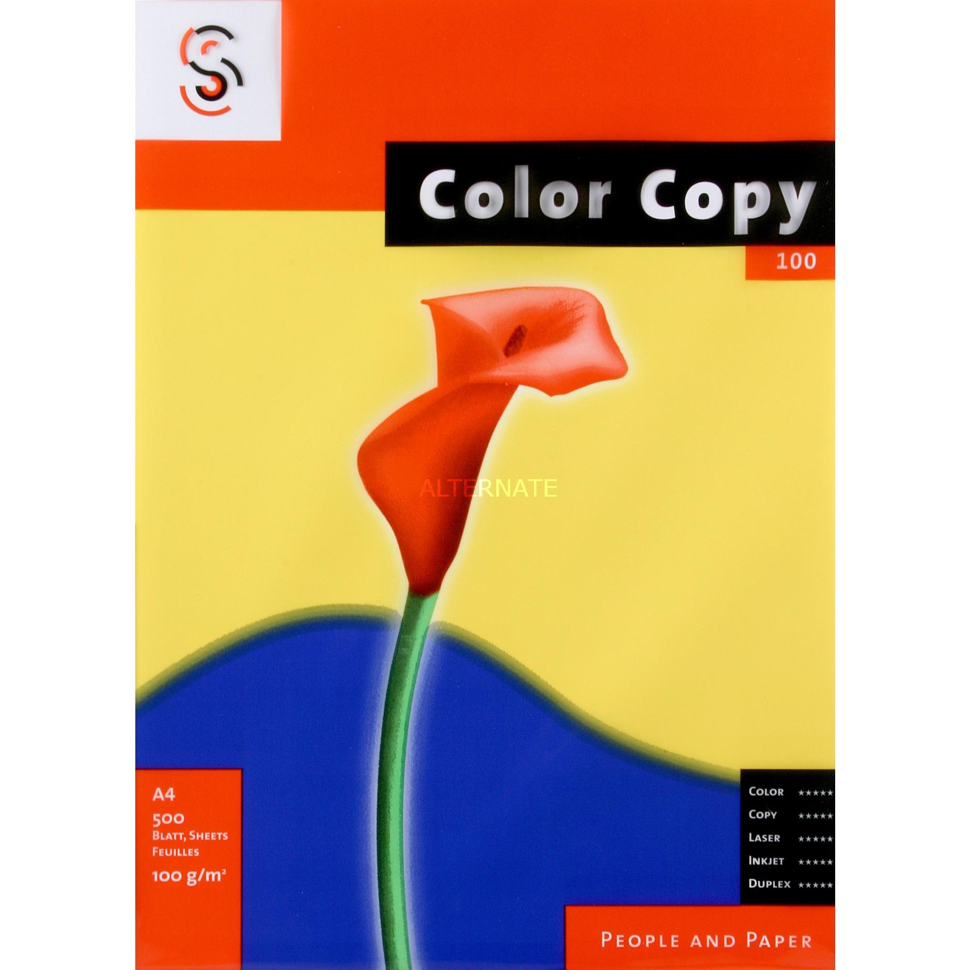 Color Copy, A4 papel para impresora de inyección de tinta A4 (210x297 mm) Satén Blanco