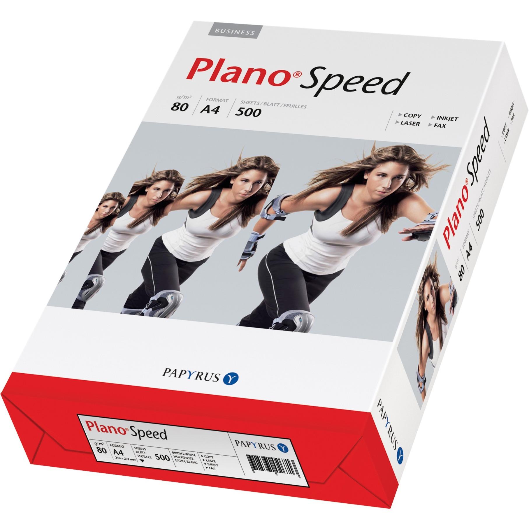 PlanoSpeed A4 (210×297 mm) Blanco papel para impresora de inyección de tinta